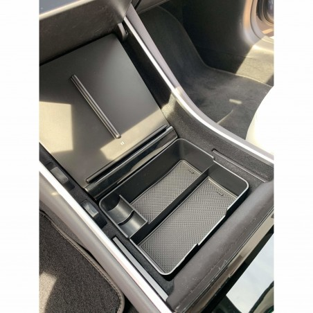 Center console organizer - Tesla Model 3 and Y