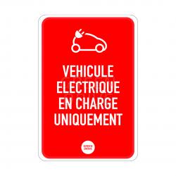 Panneaux d'affichage borne de recharge