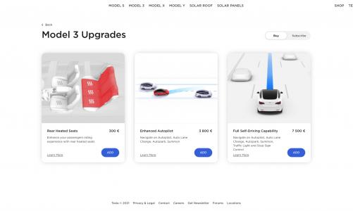 Tesla propose a nouveau l'Autopilot amélioré et modifie les conditions de remboursement