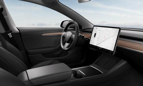 Nouvel intérieur pour la Tesla Model 3 Europe et des Model Y expédiés depuis les USA