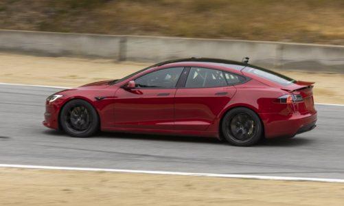 Tesla annonce un évènement pour les première livraisons de la Tesla Model S Plaid.
